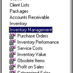 edge reports inventory management